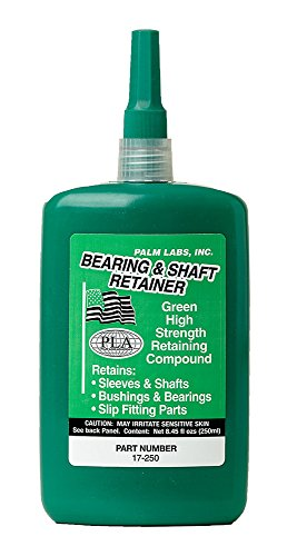Bearing & Shaft Retaining Compound - High Temperature Slip Fit - Series 17-GP - Equivalent to Loctite 620. 250ml Bottles - Case of 2
