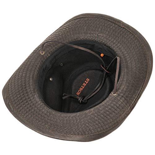marrón by Sombrero Stetson tela algodón telasombrero Diaz z1EqxYg