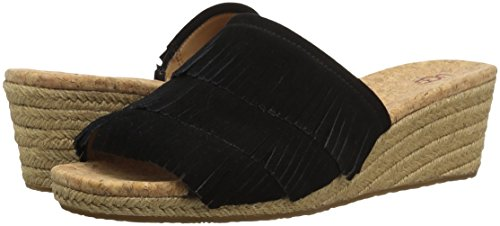 Sandals Noir Wedge Ugg Borwn Australia By 1xnPw