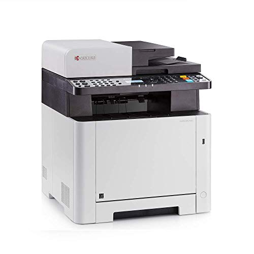 Kyocera 1102R92US0 Model ECOSYS M5521CDW Multifunctional Printer; Up to 21 PPM, 1200 Dpi Printing Quality, Mobile Printing Support, Direct Printing from and Scanning to USB Flash Memory
