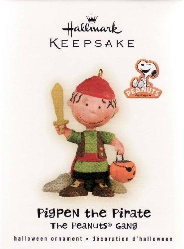 Pigpen the Pirate - Peanuts 2009 Hallmark Halloween Ornament -