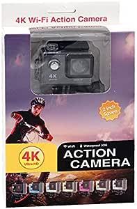 Crony ultra HD 4K 12MP Waterproof wifi action camera H9,Black