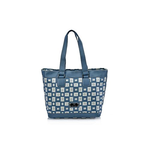 Victorio & Lucchino Bolso con Asas Shopping Guy Laroche Outlet Azul 10280