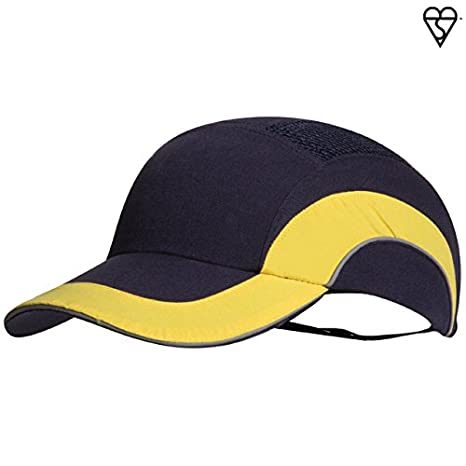 c6a6be0e32ace HardCap A1+ 282-ABR170-11 Standard Brim Baseball Style Bump Cap with HDPE  Protective Liner and Adjustable Back - - Amazon.com