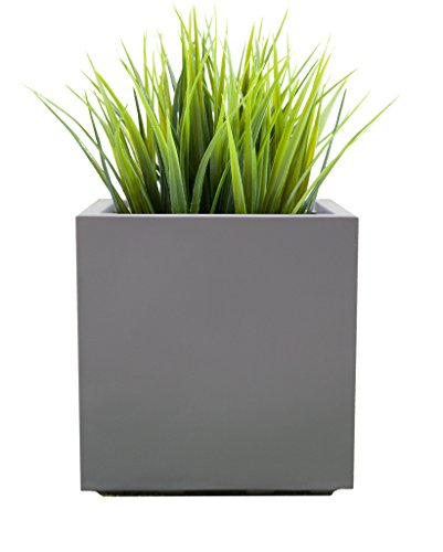 Fiberglass Plant Containers (Seeley Cube Planter - 20