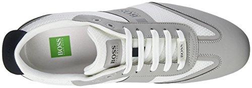 BOSS Green Lighter_lowp_mxme 10199225 01, Zapatillas para Hombre Blanco (White)