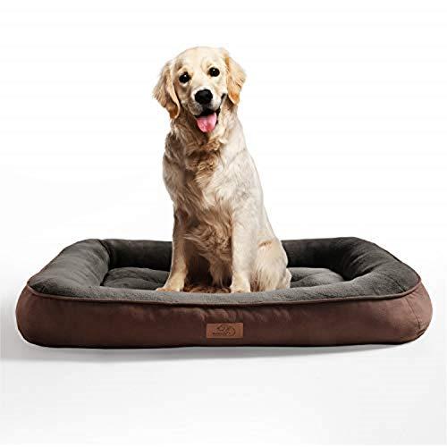 Bedsure Cama para Perros Grandes Colchón Sofá de Perro