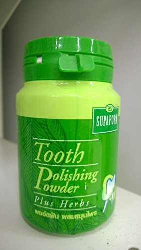 SUPAPORN Toothpaste Thai Herb Tooth Polishing Powder Herb Fresh Breath 90 - Polishing Toothpaste With
