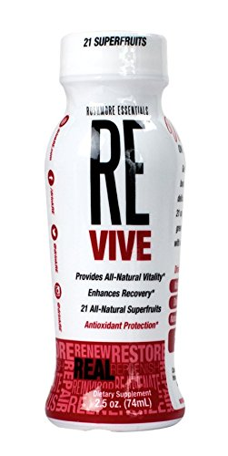 Revive natural energy shot, for a natural energy boost, 2.5 ounce, 12 Count