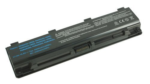 Laptop battery for Toshiba Satellite PABAS259 S850 S850D S855D S855-S5384 S855-S5386- 11.1V 6 cell 4400mAh Samsung BRAND CELL