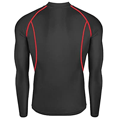 New Winter Warm Men Sports Skin Tights Compression Base Under Layer Shirts Top at  Men's Clothing store