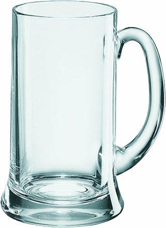 Borgonovo Icon Bierseidel Bierkrug, 500 ml, 6 Stück