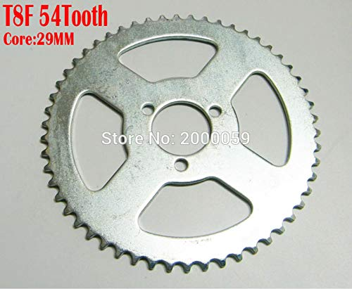 T8F 54Tooth Core 29mm Chain Sprocket Electric Scooter 47CC 49cc Dirt Kid Cross Bike ATV Quad Mini Moto