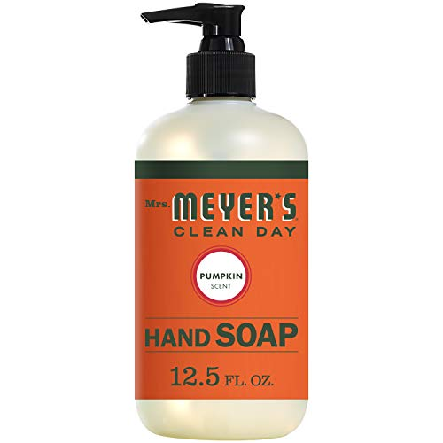 Mrs. Meyer's Clean Day Hand Soap, Pumpkin, 12.5 Ounce (Mrs Meyers Radish Hand Soap)