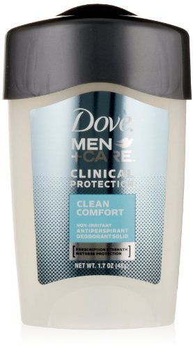 Dove Men +Care Clinical Protection Anti-Perspirant Deodorant Solid, Clean Comfort - 1.7 oz - 2 pk