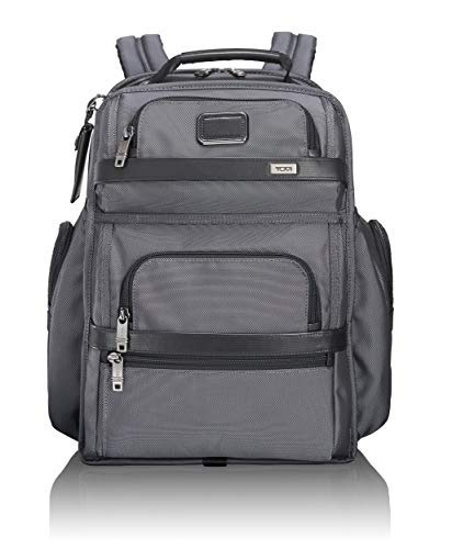 Tumi Alpha T-Pass Business Class Brief Pack Laptop Backpack, Pewter, One Size