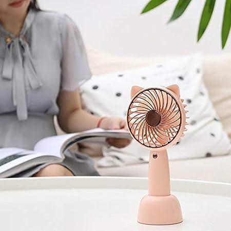 Rechargeable Battery Fan Handheld Fan USB Cat Fan Baby Stroller Fan Mini Desktop Fan