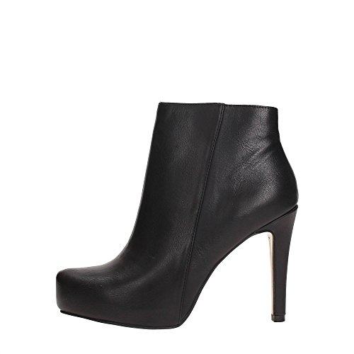 Noir Black Side Shoes Woman Boots Ankle Boots Nero Zip CAF Ankle NC914 qCdnwzxqSB