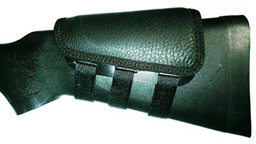 Rifle Cheek Pad / Cheek Riser / CheekRest by ITC Marksmanship / Black Leather