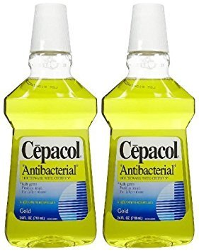 (Cepacol Antibacterial Mouthwash and Gargle Gold 24 oz. (Pack of 6))