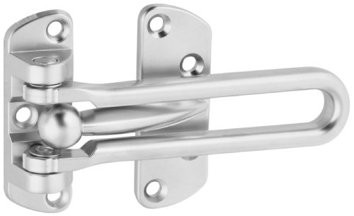 National Hardware V804 Door Security Guard in Satin Chrome