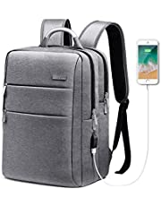 Business Laptop Backpack, HOMIEE 15.6 Inch Anti-Theft Laptop Backpack with USB Charging Port