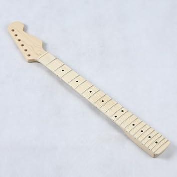 ammoon Reemplazo de Arce Diapasón de Guitarra Eléctrica: Amazon.es: Instrumentos musicales