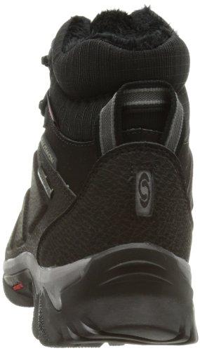 Schwarz Salomon 108751 Sportschuhe Black WP Herren Detroit Elbrus Walking Black YYZqO