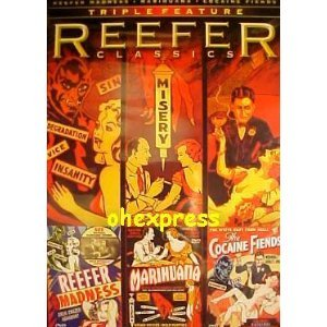 (REEFER CLASSICS: TRIPLE FEATURE/ REEFER MADNESS/ MARIHUANA/ THE COCAINE FIENDS.)