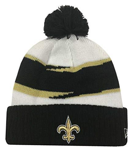 (2018 Mens NFL Thanksgiving Day Knit Hat Orleans Saints)
