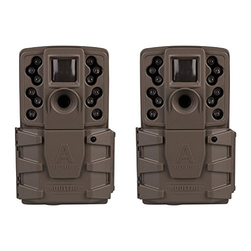 - Moultrie A-25i 12MP Low Glow Infrared Game Camera (2 Pack)