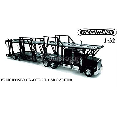 Freightliner Classic XL Car Hauler 1:32 Scale Diecast Truck Model by New Ray: Toys & Games