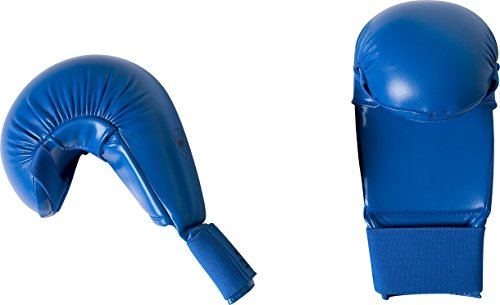 adidas Karate WKF Gloves - Blue (Large)