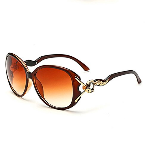 MosierBizne Ms Wild New Fashion Sunglasses Large Frame Mirror Solar - Oblong Face For Spectacle Frames