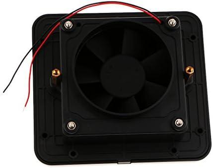 IPOTCH Ventilador Extractor de Aire para RV Caravana Autocaravanas Barco Marino Yates - Negro: Amazon.es: Coche y moto