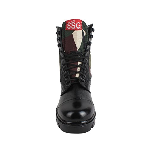 SSG Men's Combat Jungle Lace up Military,Tactical and Biker Boot - stylishcombatboots.com
