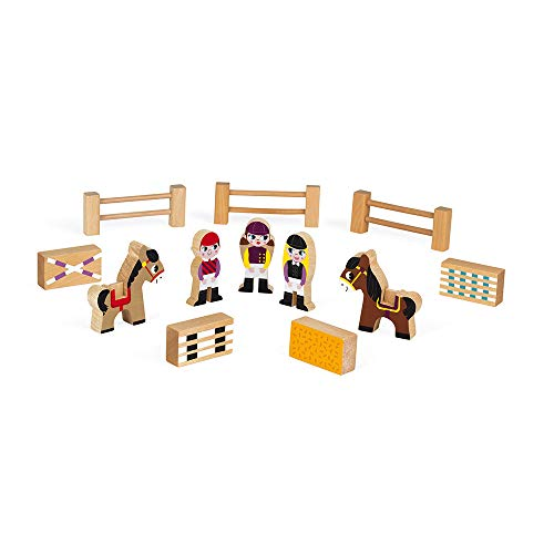 Janod Mini Story - Riding School Playset