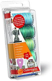 Gutermann Embroidery 12 - Juego de carretes de Hilo para Coser a ...