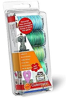 Gutermann Embroidery 12 - Juego de carretes de Hilo para Coser a máquina (100%