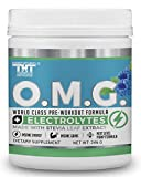 OMG Preworkout Drink for Hardcore Improvement & Performance.Boosts Energy,Motivation,Builds Muscle, Promotes Muscle Recovery,Focus (20 Oz (30 Servings), Blue Raspberry)