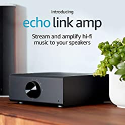 Echo Link Amp | Stream and amplify hi-fi music to your speakers (requires compatible Echo device for Alexa voice control)