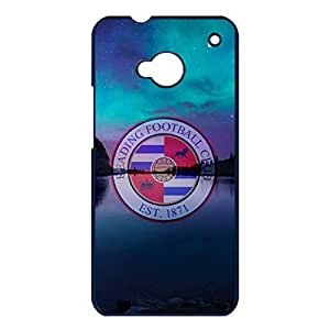 Hot Reading Football Club Phone Case Cover For Htc One M7 Reading FC Luxury Pattern