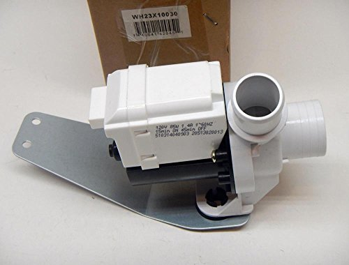 Major Appliances WH23X10030 for GE Washing Machine Washer Drain Pump Motor PS8768445 AP5803461