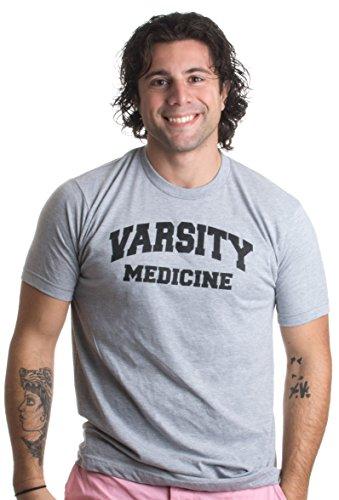 Varsity Medicine | Funny Doctor, Nurse, Medical Researcher Humor Unisex T-shirt