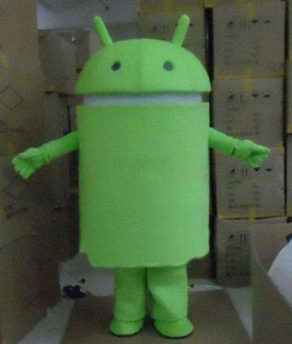 Professional Android Robot Mascot Costume Facny Dress Adu...