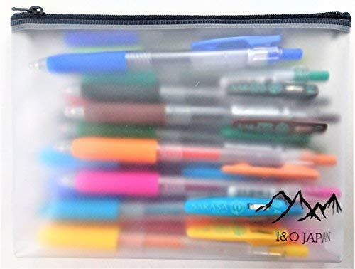 Zebra Sarasa Clip Rapid Dry Ink Gel Retractable Pen, 0.4mm, 20 Colors Set with Original Vinyl Pen Case