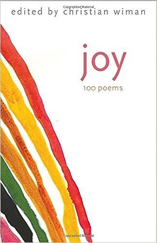 Amazon.com: Joy: 100 Poems (9780300226089): Christian Wiman: Books