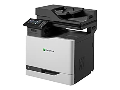 Lexmark 4X1619 CX820dtfe Fax / Copier / Printer / Scanner - Black/Gray