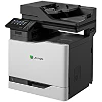 Lexmark 4X1619 CX820dtfe Fax / Copier / Printer / Scanner - Black/Gray