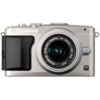 Olympus E-PL5 Interchangeable Lens Digital Camera with 14-42mm Lens (Silver) - International Version (No Warranty)